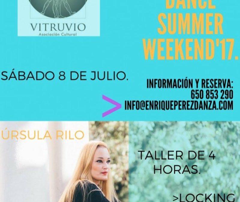 8 DE JULIO CURSO JAZZ ROCK Y LOCKING EN EL EJIDO (ALMERÍA)