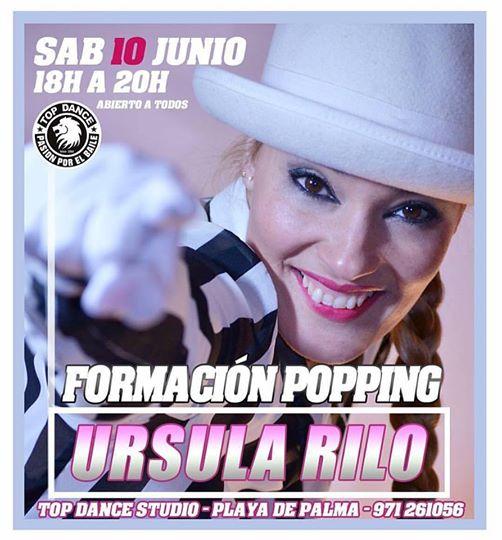 10 DE JUNIO FORMACIÓN DE POPPING EN TOP DANCE!
